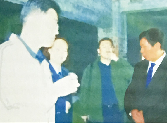 国家质监总局副局长刘洪生来厂考察